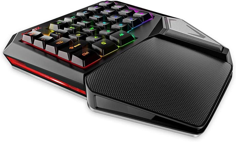 T9 Plus Wired Gaming Keypad 29 Keys One-Handed Membrane Keyboard
