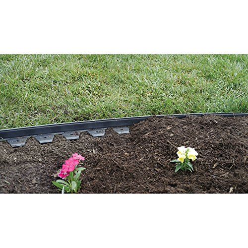 Dimex easyflex easy and quick no dig yard landscape border for Easy gardener lawn edging