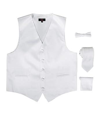 Brand Q - Conjunto de 3 Piezas de Chaleco de Vestir para Hombre ...