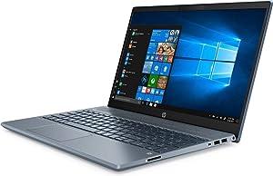 "HP High Performance Pavilion 15-cs3073cl 15.6"" Touchscreen Laptop - 10th Gen Intel Core i7-1065G7 - GeForce MX250 -16GB RAM - 1TB HDD - Backlit Keyboard- Fog Blue (Renewed)"