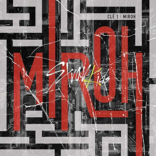 K-POP Stray Kids - 4th Mini Album [Clé 1 : MIROH] (Clé 1 + MIROH, all versions SET) Music CD + QR Photocards + Photobook + Pre-Order Benefit + Folded Poster + Extra Photocards Set