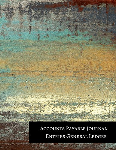 Accounts Payable Journals (Accounts Payable Journal Entries General Ledger)