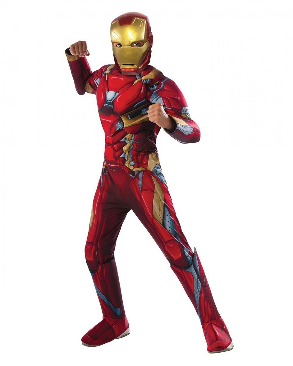 Iron Man Niños Disfraz de Marvel: Amazon.es: Juguetes y juegos