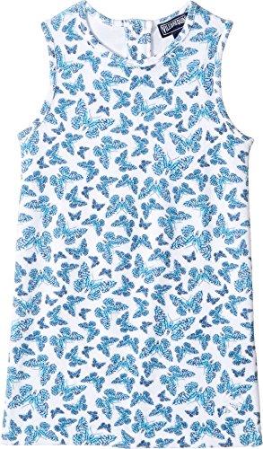 Vilebrequin Kids Baby Girl's Butterflies Terry Dress (Toddler/Little Kids/Big Kids) White Swimsuit Top by Vilebrequin Kids