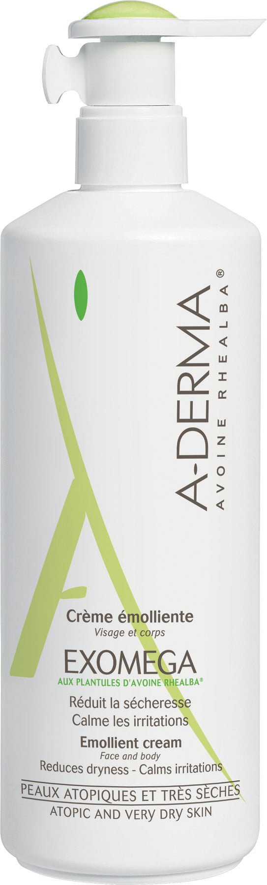 Aderma Exomega Emollient Cream 400ml