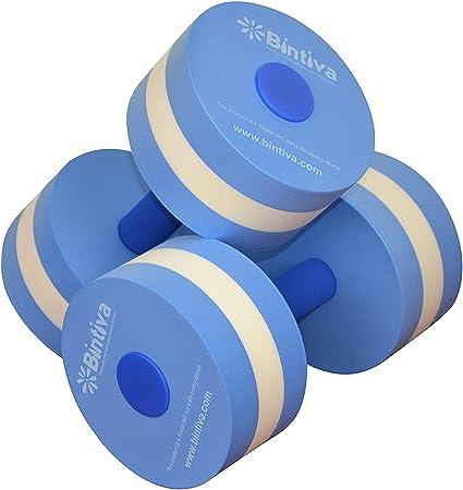 1Pair Aerobics Dumbbell Fitness Pool Medium Aquatic Barbell Exercise Water Sport
