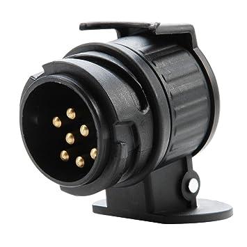 LIHAO Adapter Anh/änger 13 auf 7 Polig f/ür PKW Autoanh/änger