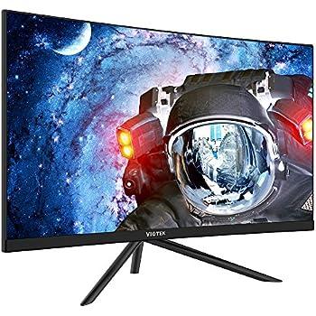 VIOTEK GN27DB 27-Inch Curved Gaming Monitor, 1440p 144Hz Samsung VA Panel, FreeSync GamePlus FPS/RTS – VESA (Black)