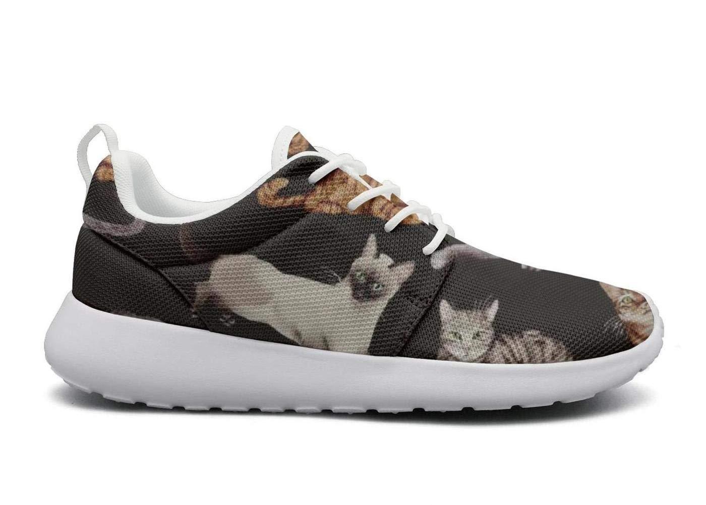 ERSER Relaxing Cats-01 Neutral Running Shoes Women