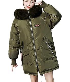 e545764e811 Lazzboy Parka Coat Women Faux Fur Hooded Warm Winter Ladies Padded Plain  Outerwear UK 10-18 Plus Size…