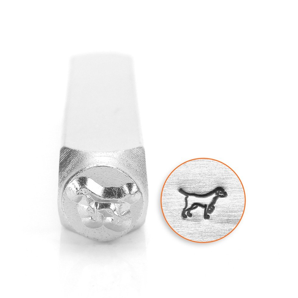 ImpressArt- 6mm, Lab Retriever Metal Stamp SC156-AE-6MM