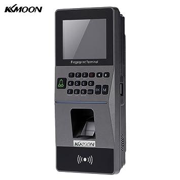 RFID Card Reader sensor biométrico de huellas de acceso Control sistema de TCP/IP, RS485 asistencia máquina eléctrica: Amazon.es: Bricolaje y herramientas