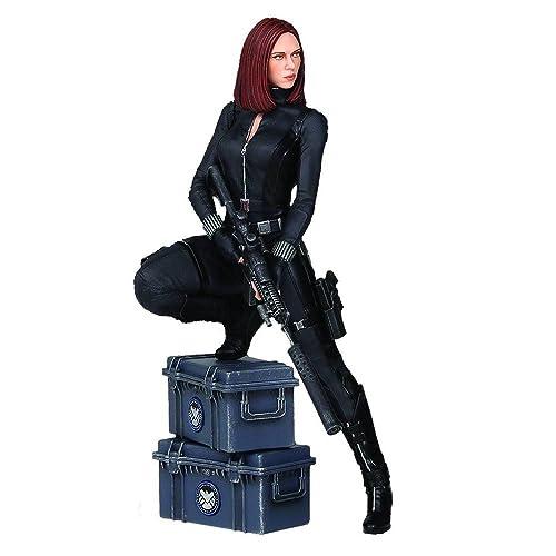 Captain America The Winter Soldier Black Widow 9-Inch Statue