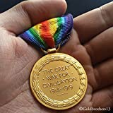 Military Medal Victory Medal The Great War for