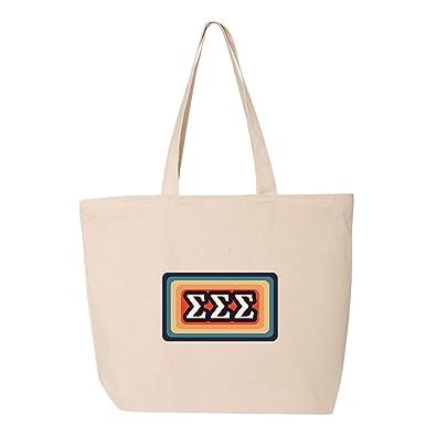 Amazon.com: Sigma Sigma Sigma Sigma - Bolsa de la compra ...