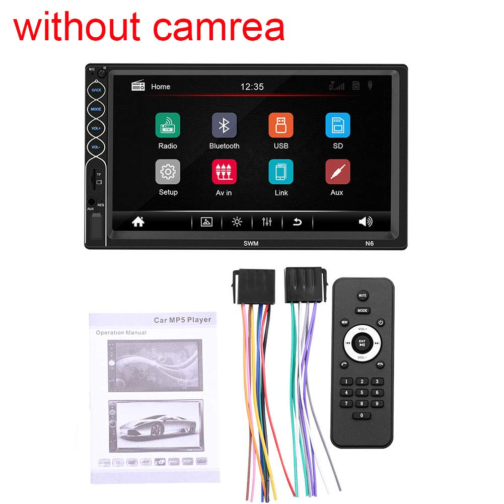 Electronics Car Electronics Leadfan Double Din Car Stereo Touch ...