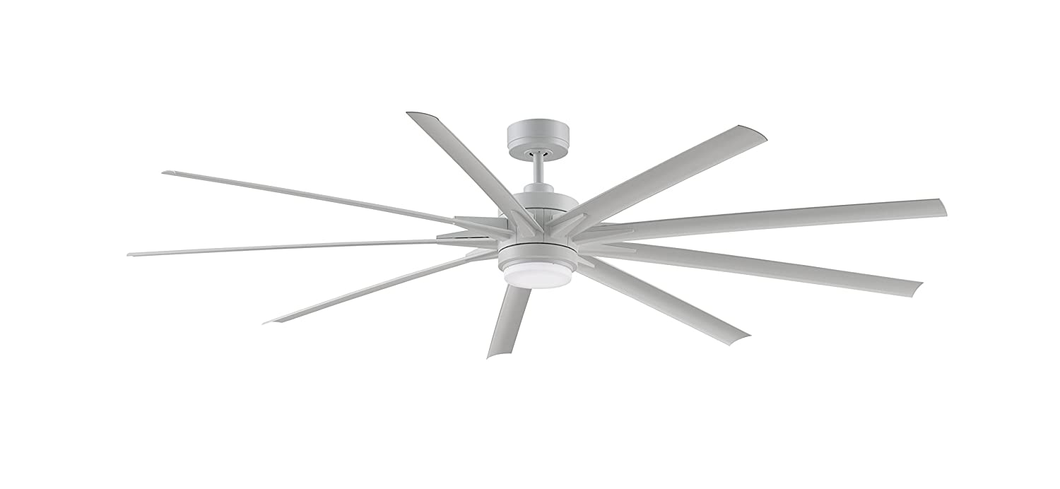 Fanimation FPD8159BNWBN Levon Indoor/Outdoor Ceiling Fan with LED 63 ...