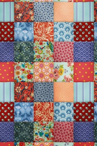 Stitchy Notes: Lined Notebook - Patchwork Quilt Cover Design - 6
