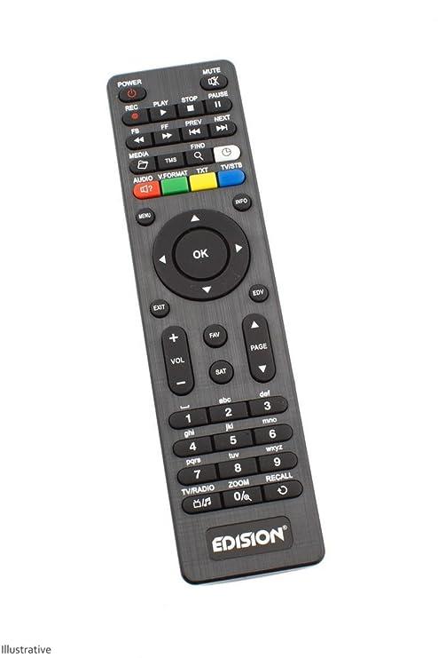 edision telecomando  Edision Piccollo 3 in1 Plus IC telecomando: : Elettronica