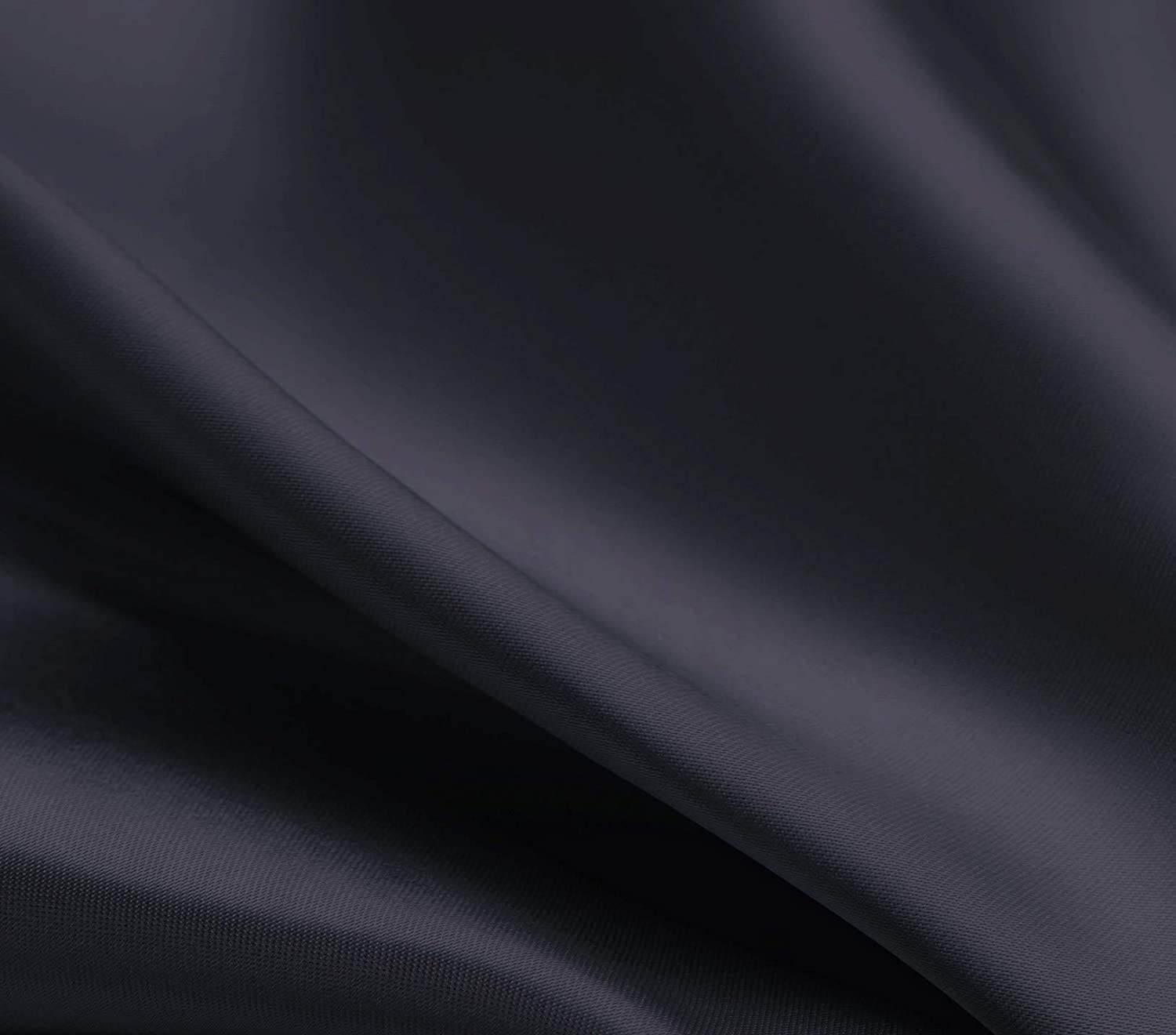 Slip King Size Pillow Cases Set of 2 Black, 20x40 inches Loves cabin Silk Satin Pillowcase for Hair and Skin Satin Cooling Pillow Covers with Envelope Closure