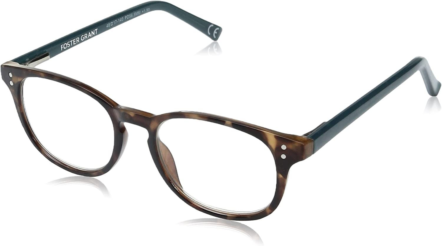Foster Grant Women's Elodie Round Reading Glasses