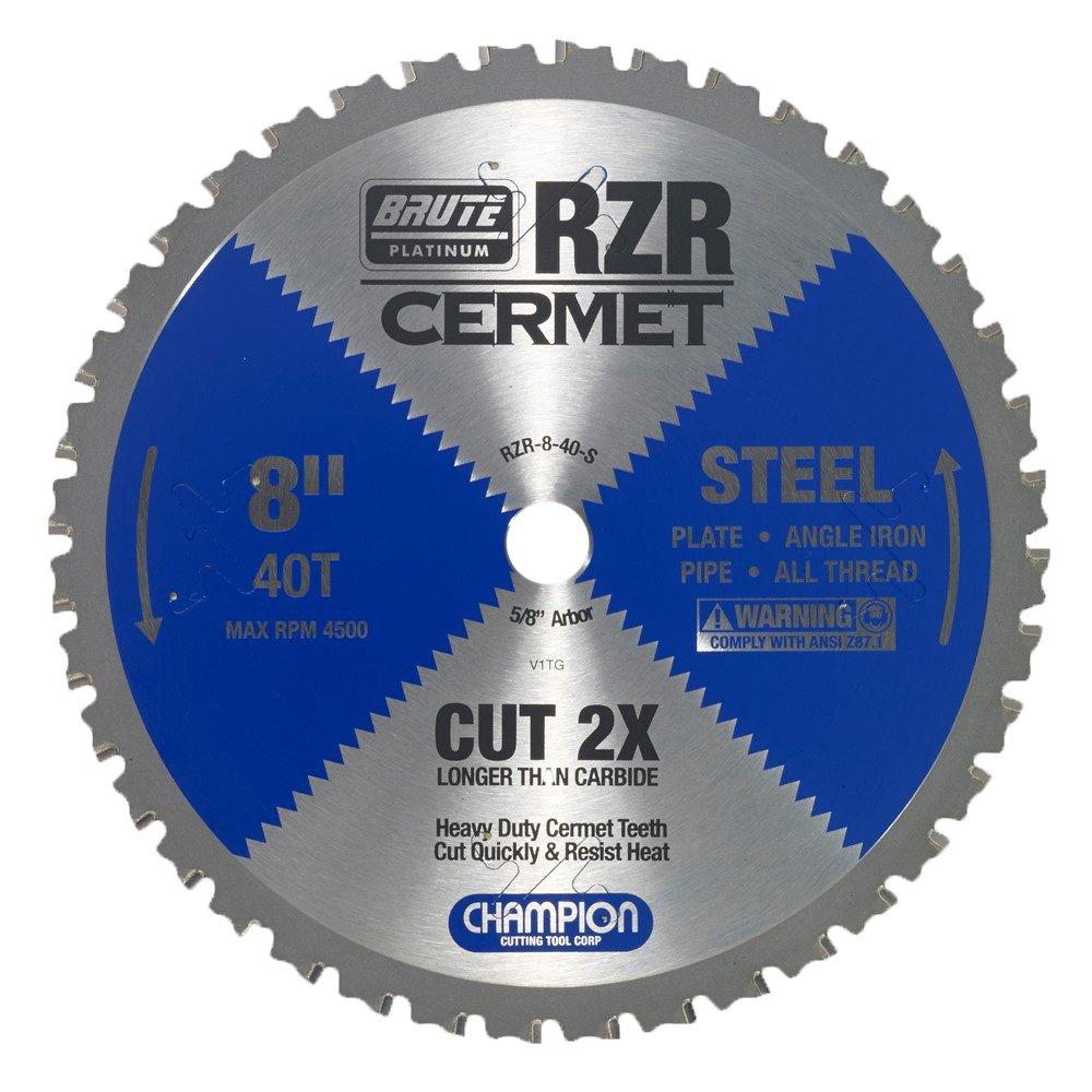 Disco Sierra CHAMPION 8 x 40T (RZR 8 40 S) Acero cortado
