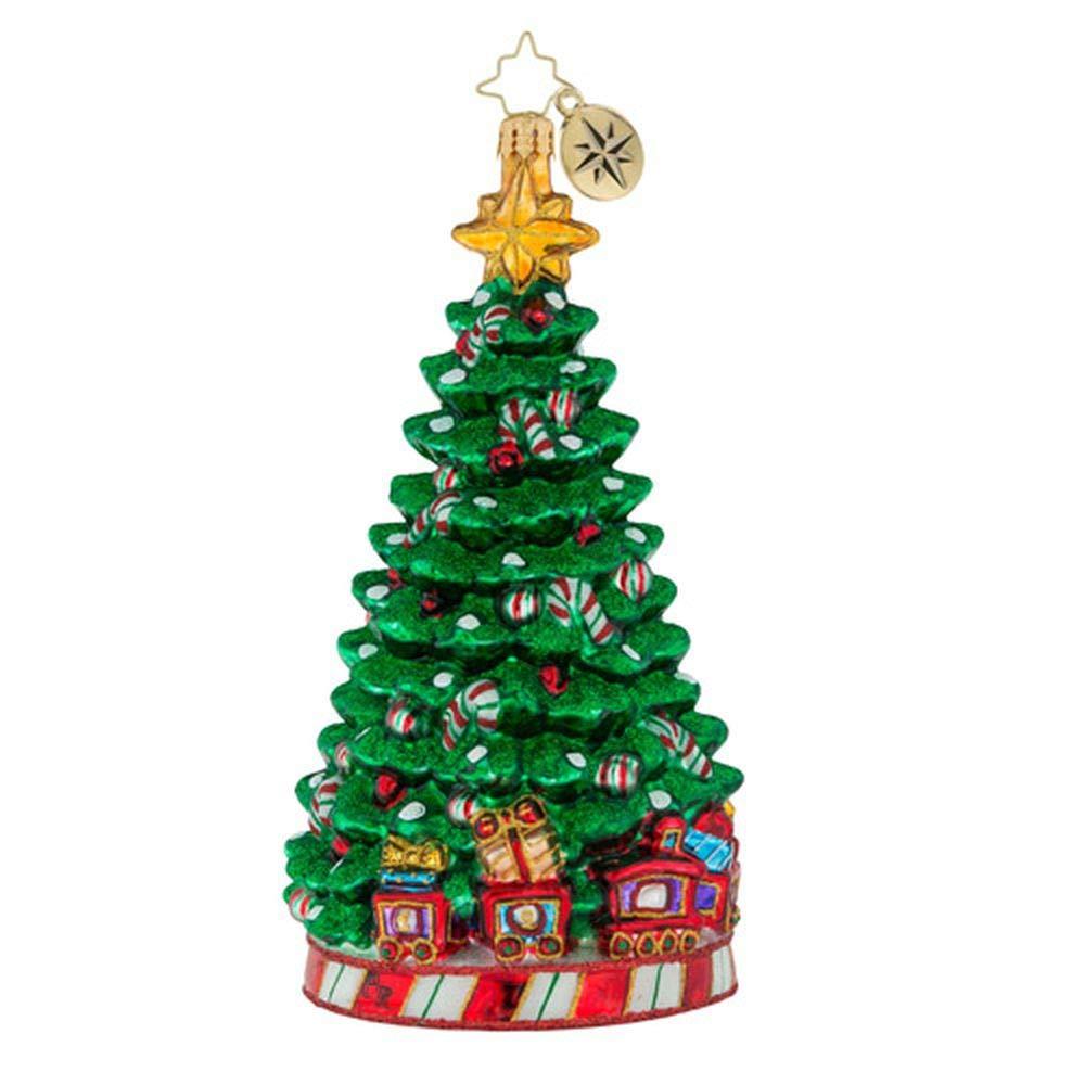 Christopher Radko Peppermint Panache Christmas Ornament