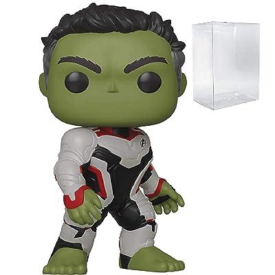 Marvel: Avengers Endgame - Hulk Funko Pop! Vinyl Figure (Includes Compatible Pop Box Protector Case): Toys & Games