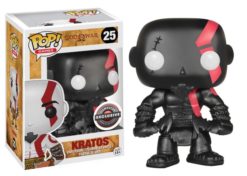 Funko POP! Video Game: God of War Fear Kratos Vinyl Figure - GameStop Exclusive