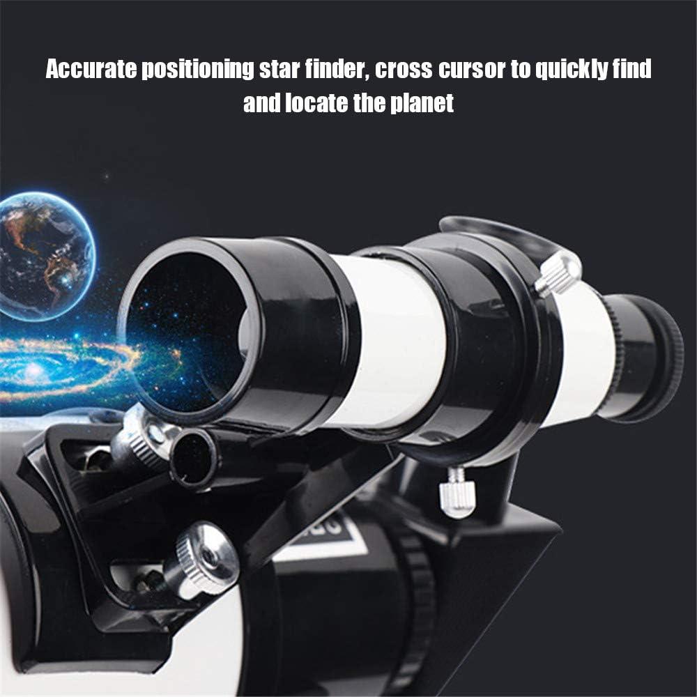 KKTECT Telescopio Pacchetto bambini principianti Apertura di 70 mm Lenti rivestite multistrato ad alta trasmissione luminosa Dotato di Bard film filtro lunare porta cellulare