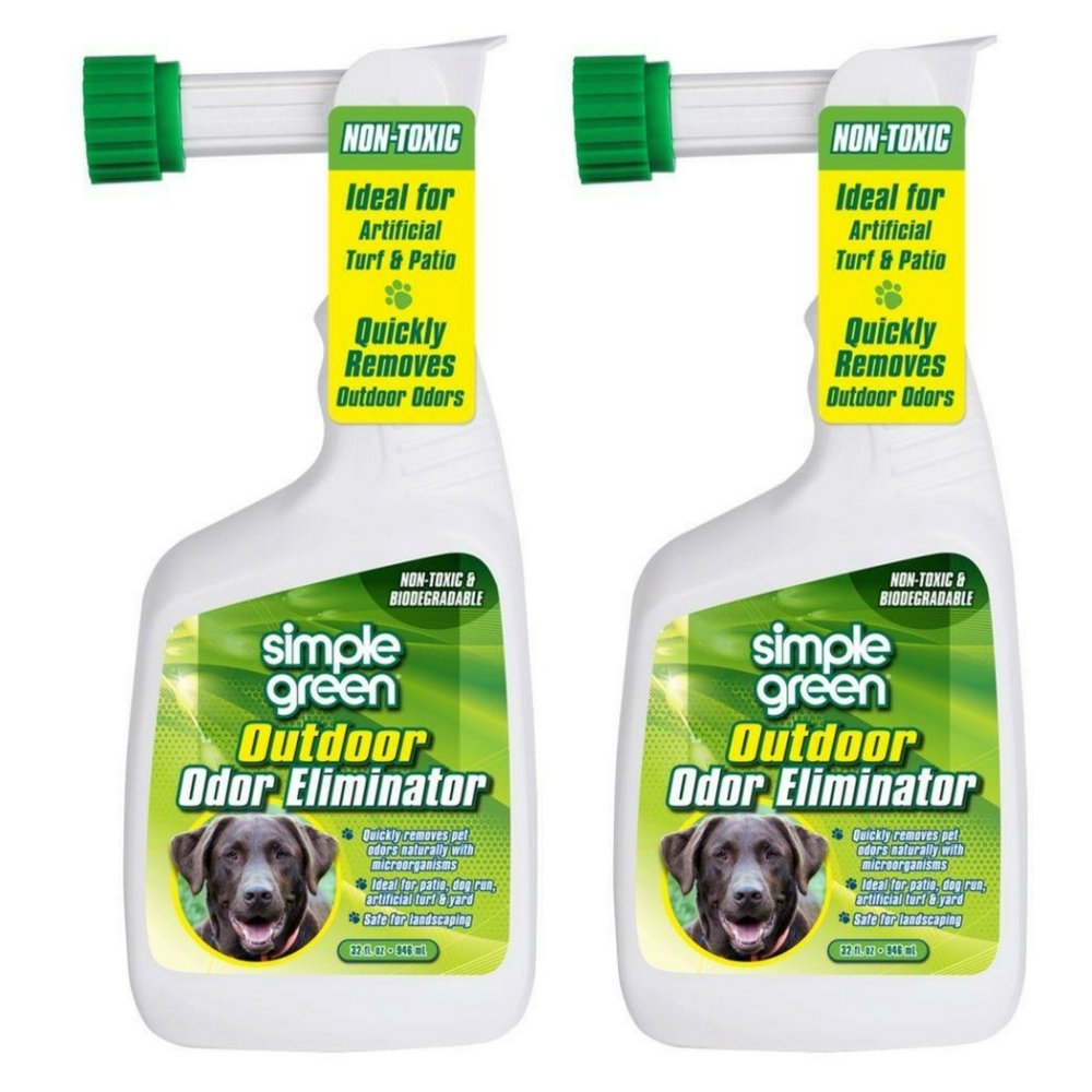 Simple Green Outdoor Odor Eliminator Hose End Sprayer for Pets 32 Ounce by Simple Green