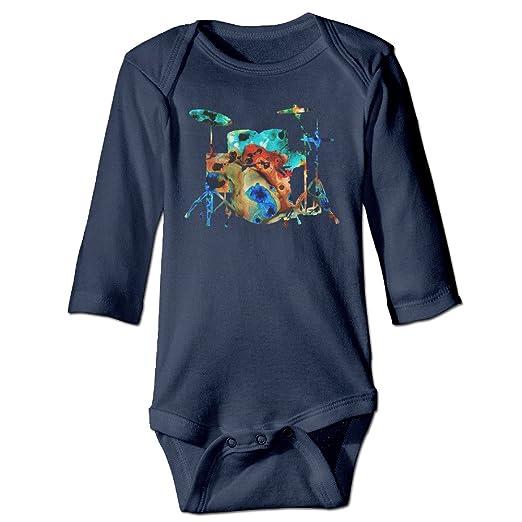 Amazon.com: Baby Onesie Drum Artistic Design Colorful ...