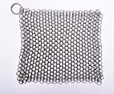 Best Scrub Pads For Grill Brushes - SMYLLS Stainless Steel 316 L Cast Iron Cleaner Review