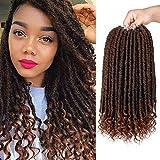 Best Hair For Crochet Braids - Goddess Faux Locs Crochet Hair 6Pack Straight Hair Review
