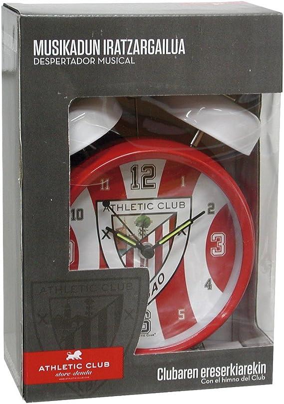 CYP Imports DM-04-AC Despertador Musical con Himno, diseño Athletic Club Bilbao: Amazon.es: Hogar