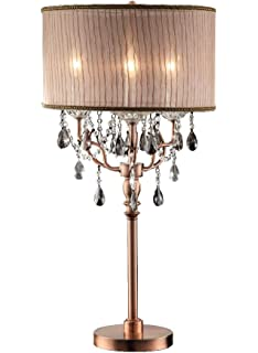 ok5126t 35inch rosie crystal table lamp - Chandelier Table Lamp