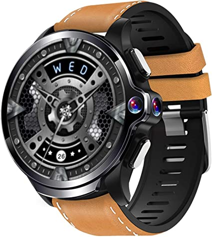 Allcall GT 4G Smart Watch Phone Big Battery Face Unlock Life Waterproof GPS Dual Cameras 1.6Round Display Long Battery Big Memory 3GB RAM 32GB ROM ...