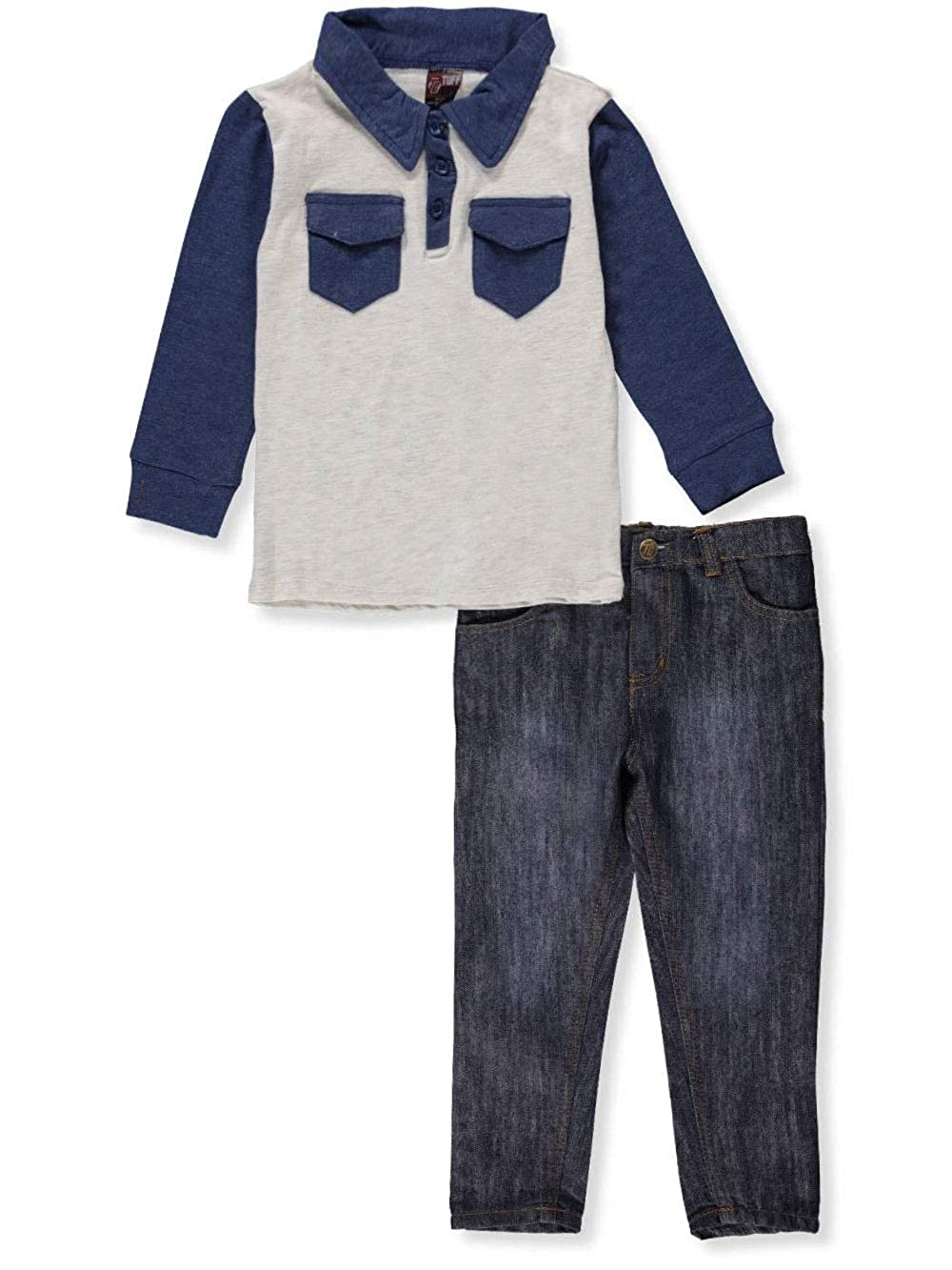 Tuff Guys Boys' 2-Piece Pants Set Outfit