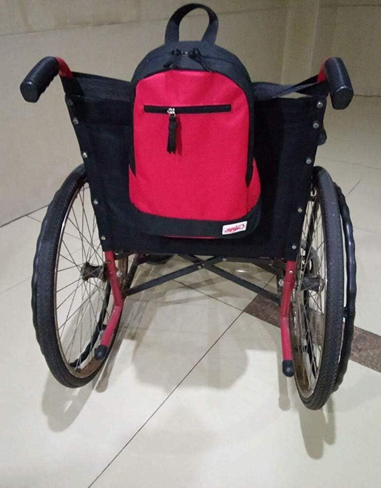 Bolsa para silla de ruedas: bolsa de almacenamiento para transportar artículos; Accesorios - Mochila para silla de ruedas para hombres, mujeres, discapacitados, ancianos Cómodo