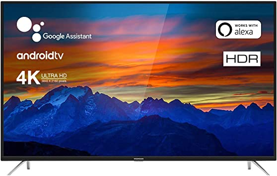Televisore Thomson Android TV 4K HDR Series UE64: Amazon.es: Electrónica