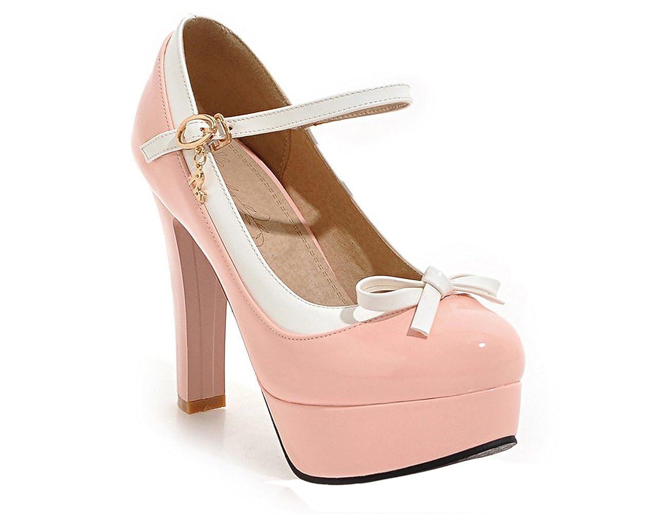 UH Sandalo Sandalo UH con donna Zeppa donna con rosa 1a0806   b271bc