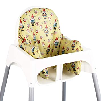 Asiento Cojín revestimiento para Ikea ANTILOP - Gnome ♥: Amazon.es: Bebé