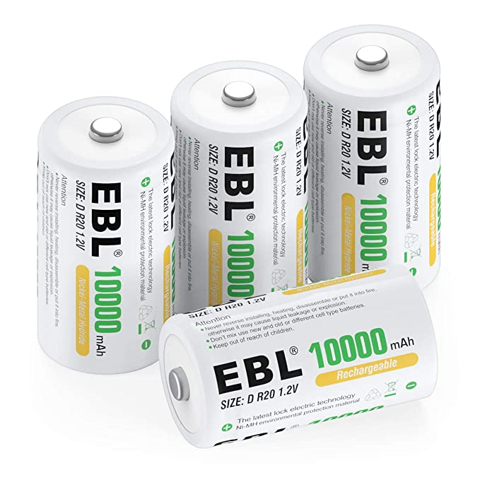 EBL 4c 4d Baterías con cargador: Amazon.es: Electrónica