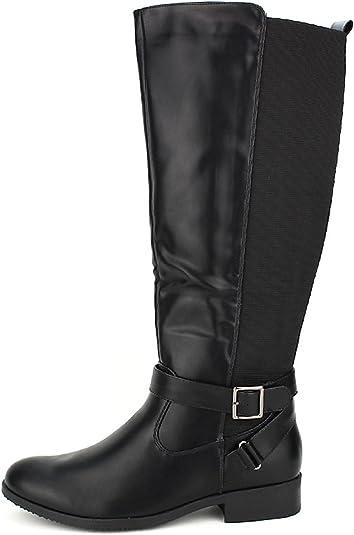 Femme Pointure CendriyonBotte Noire Grande KLEO Chaussures IWD29YeEH