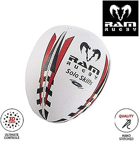 Solo Skills - Balón de rugby para entrenar el rebote contra una ...