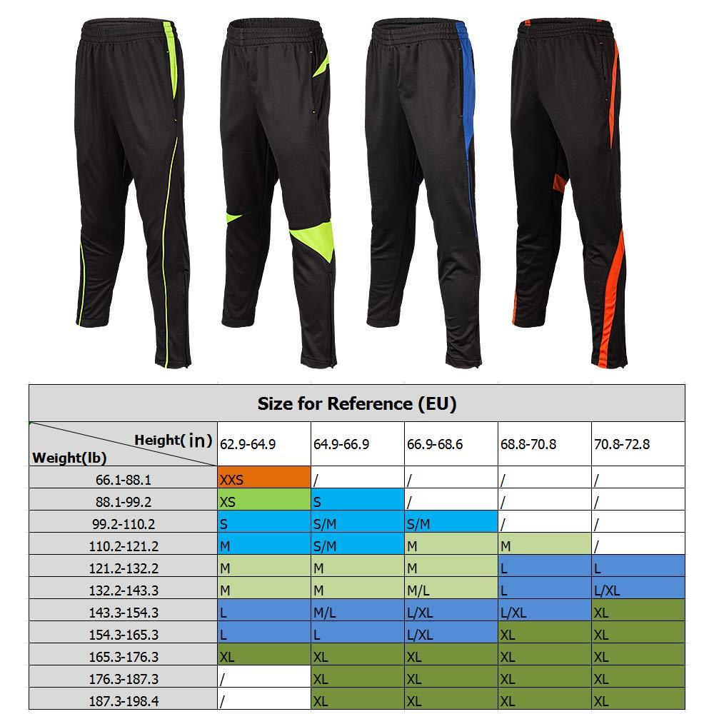 Lixada Pantaloni da Corsa da Uomo Pantaloni Sportivi Slim Fit Affusolati con Tasche Tasche Sportive da Jogging