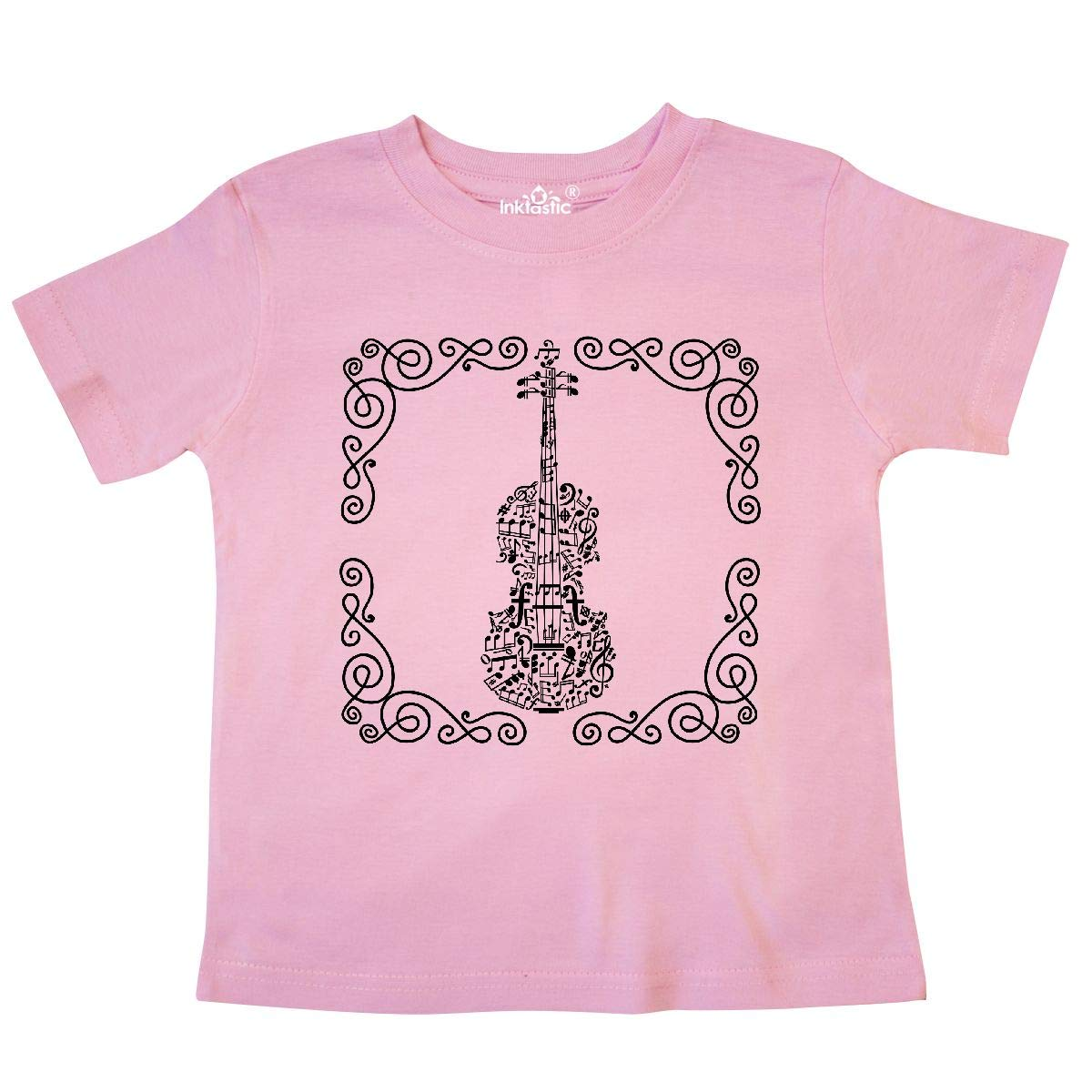 inktastic Violin Music Instrument Musician Gift Toddler T-Shirt