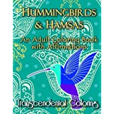 Hummingbirds & Hamsas: An Adult Coloring Book with Affirmations