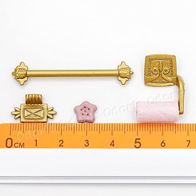 Amazon.com: odoria 1: 12 Miniatura 4pcs Dollhouse Accesorios ...