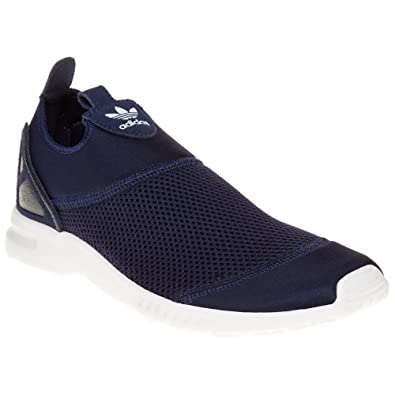 adidas ZX Flux ADV Smooth Slip on Damen Sneaker Blau 2VNo3weSQ